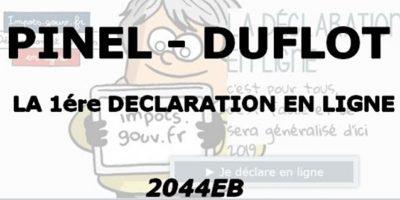Formulaire 2044 EB