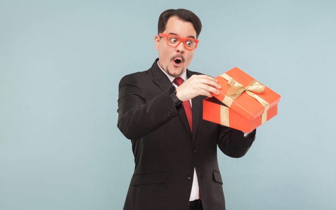 Offrir des goodies sympas et originaux à ses clients