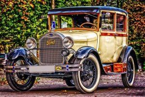 Ancienne voiture de Ford