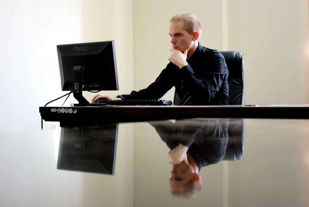 Un intrapreneur au travail