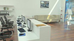interieur bureau moderne