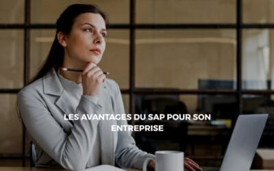 Pourquoi le SAP est bénéfique pour son entreprise ?